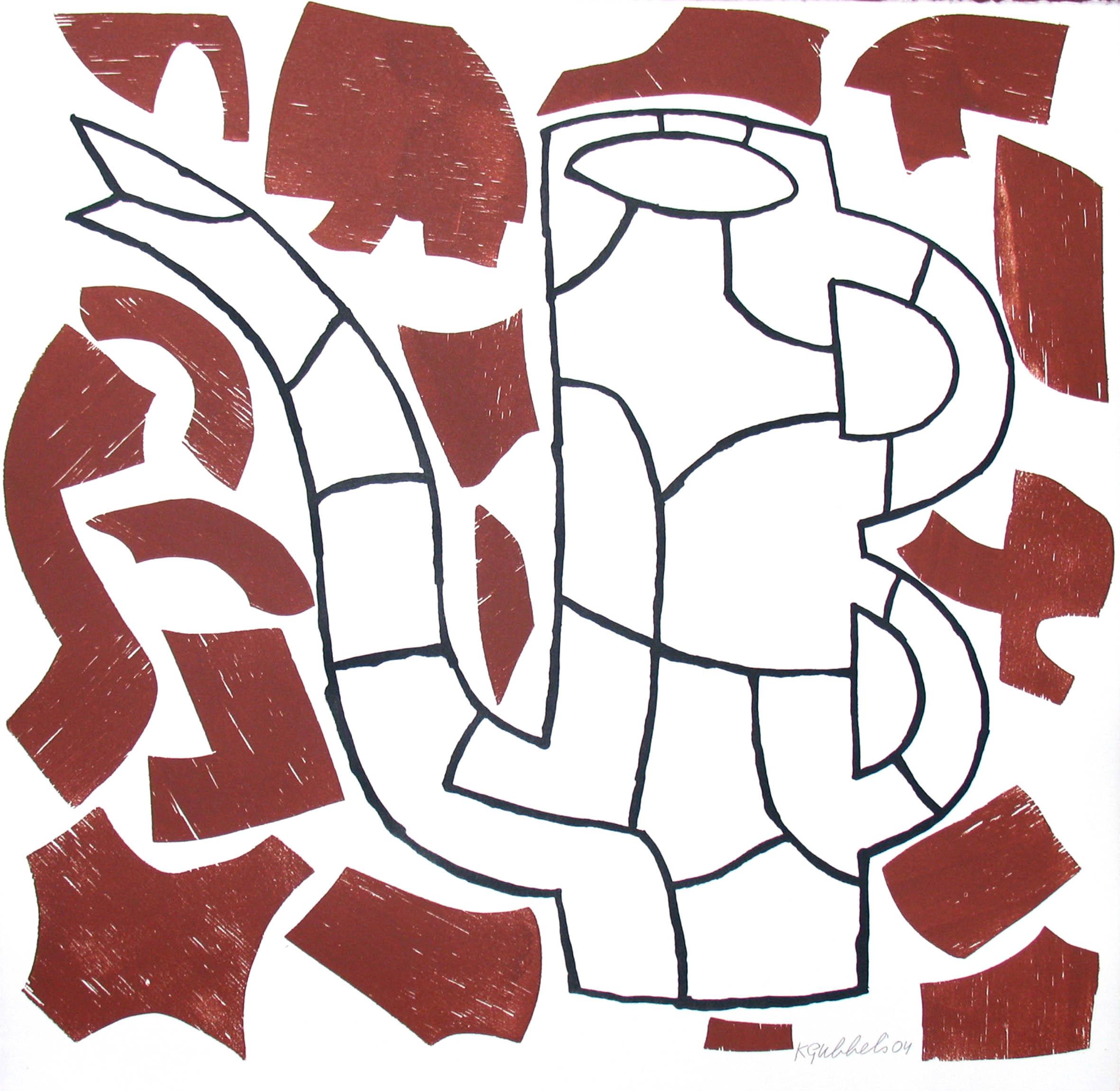 z.t. (puzzlekan grijs) (2004)
