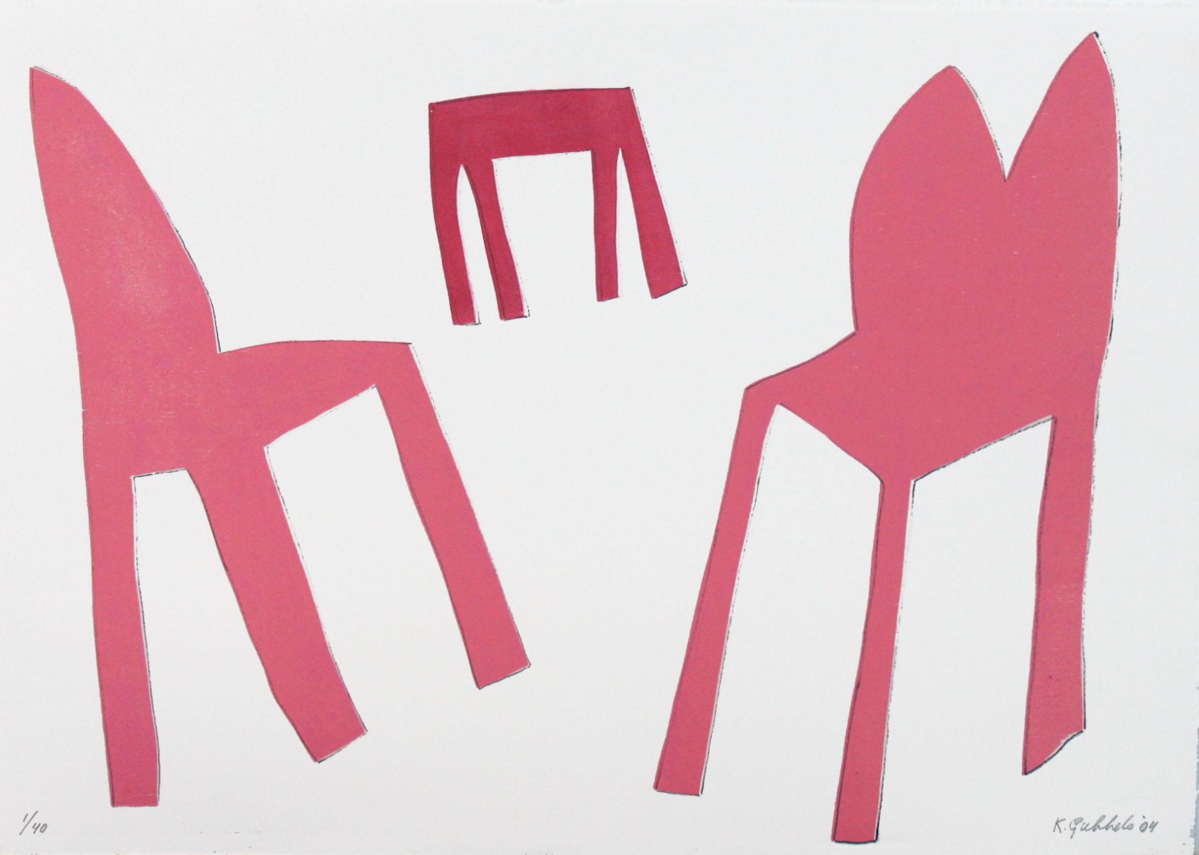 z.t. (roze tafel en stoel) (2004)