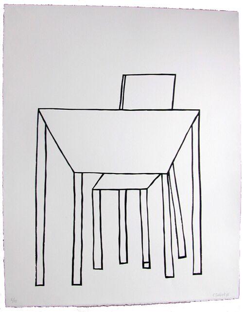 z.t. (Tafel met stoel) (1996)