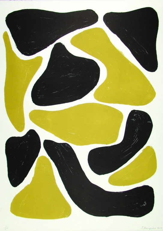 Flagstones (oker+zwart) (2003)