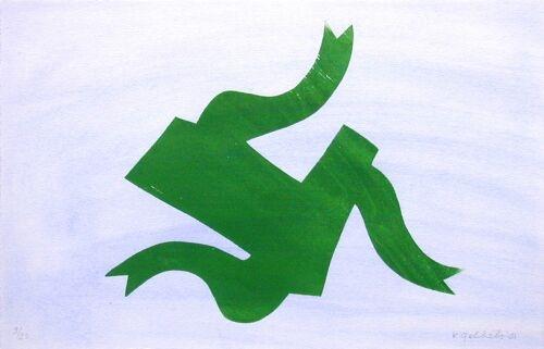 z.t. (3 houtdrukken met aquarel) (2001)