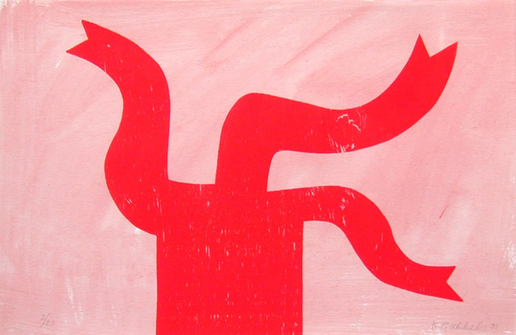 z.t. (kan houtdruk/aquarel los) (2001)
