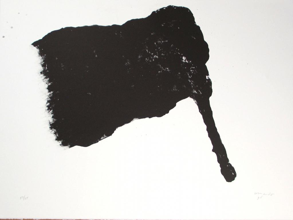 Fahne (stok rechts) (1996)