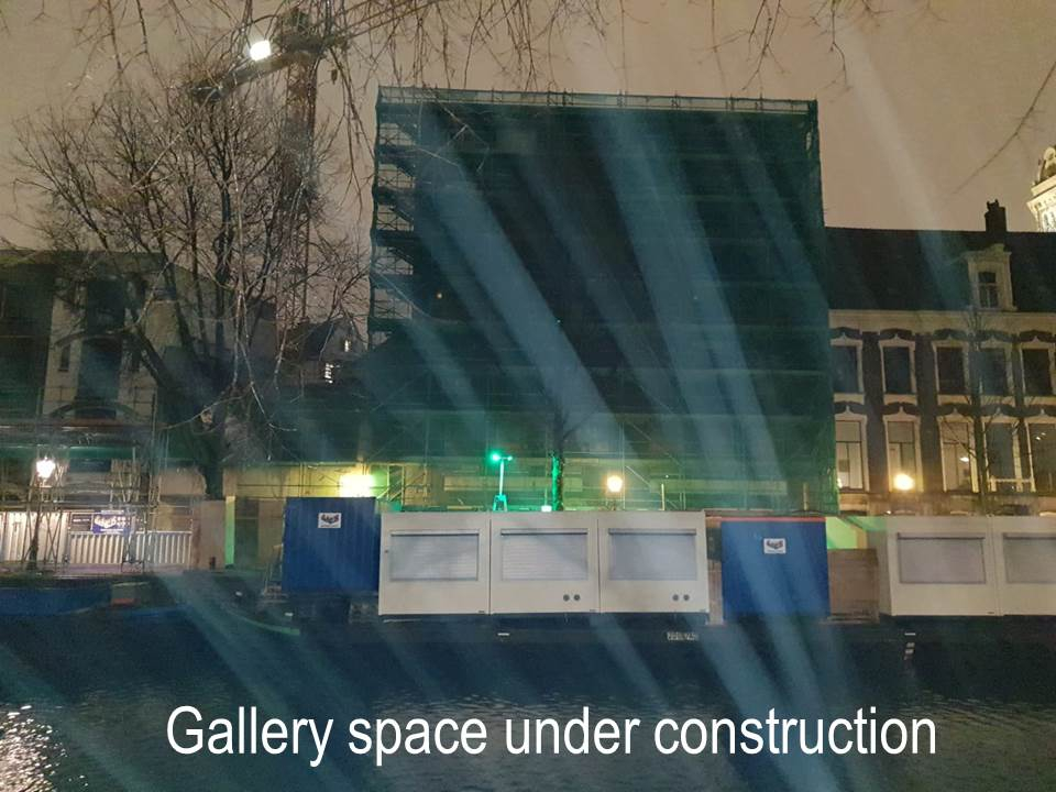 Gallery Space under Construction