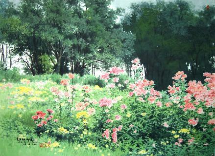 Bright Flower Garden