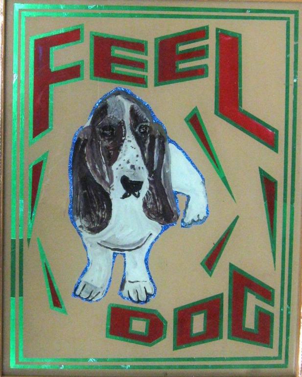 Feel dog