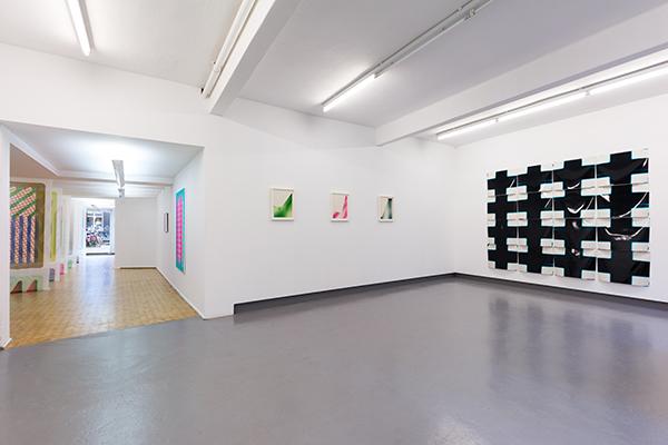 Estafette Tentoonstelling Colour - Pattern - System - Dimension Sigrid Calon & Tanya Long