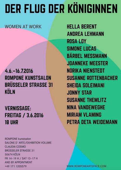 Joanneke Meester nog t/m 14 augustus in Rompone Artspace Köln