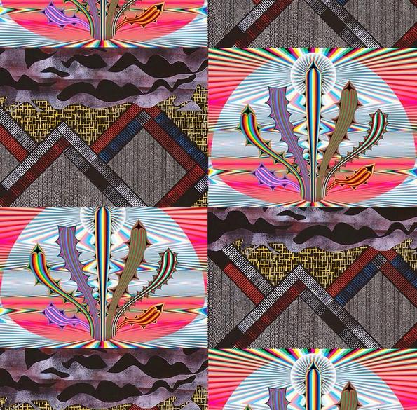 Estafette tentoonstelling            Colour - Pattern - System - Dimension