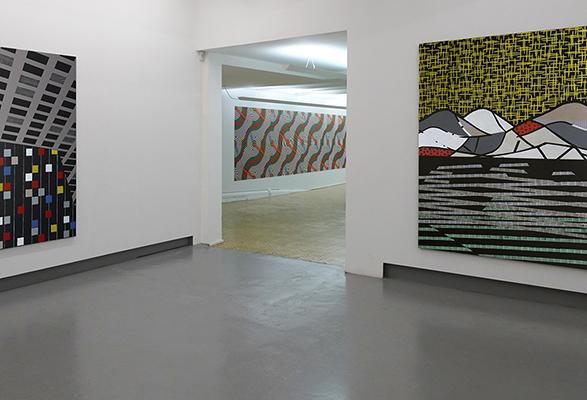 Estafette tentoonstelling Colour - Pattern - System - Dimension Michiel Schuurman & Anuli Croon