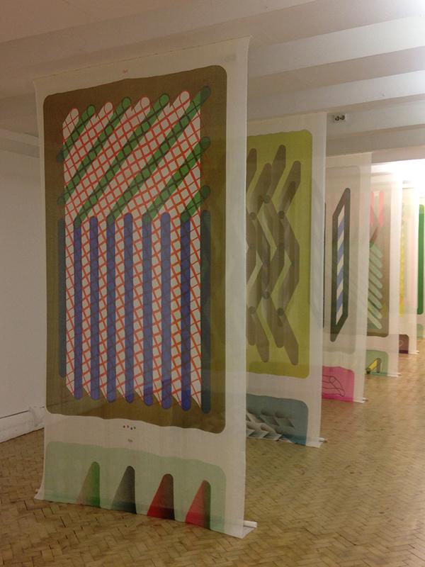 Estafette Tentoonstelling Colour - Pattern - System - Dimension Part II